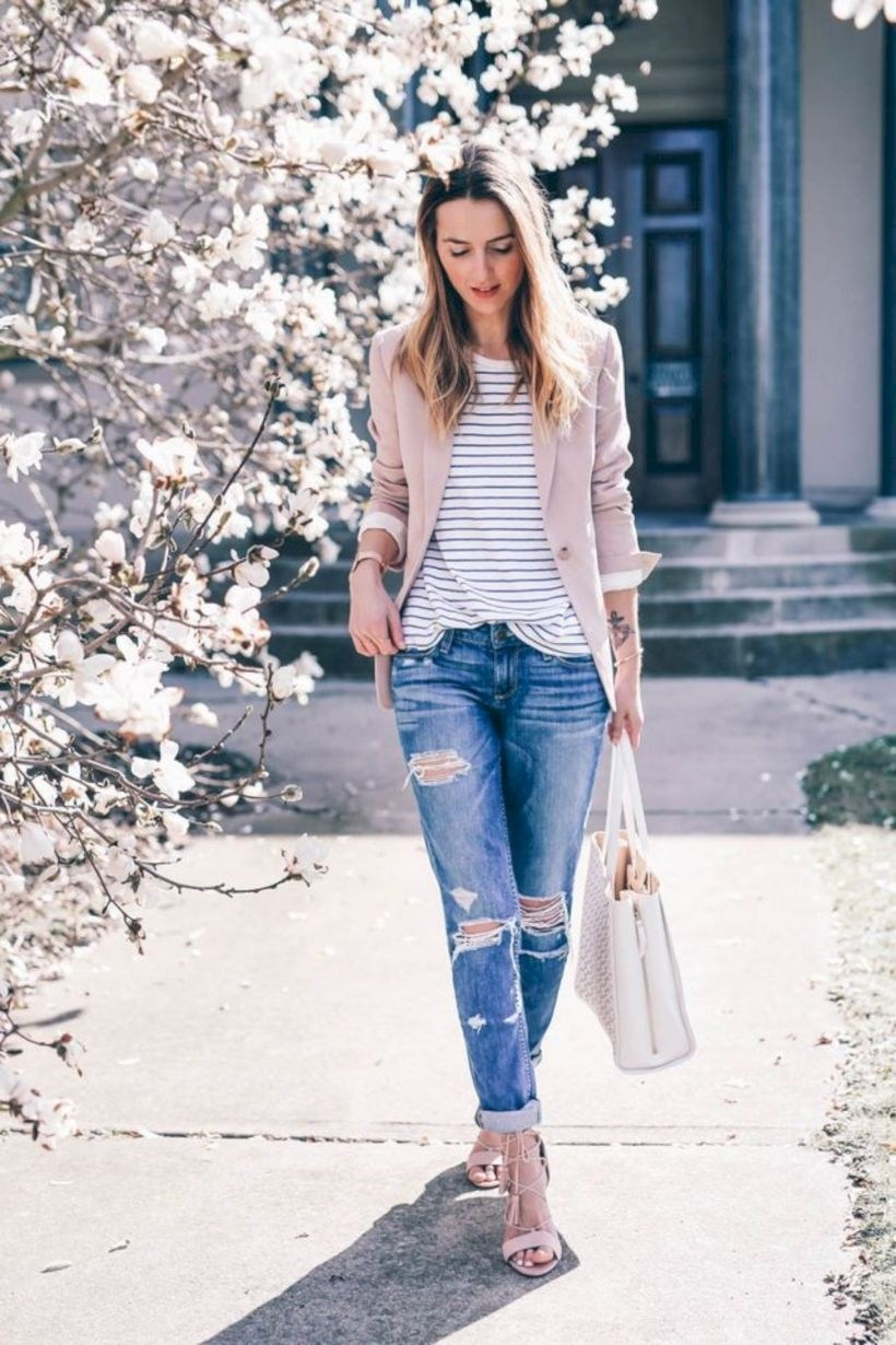 15 Cute And Casual Spring Outfit Ideas For Women ...
