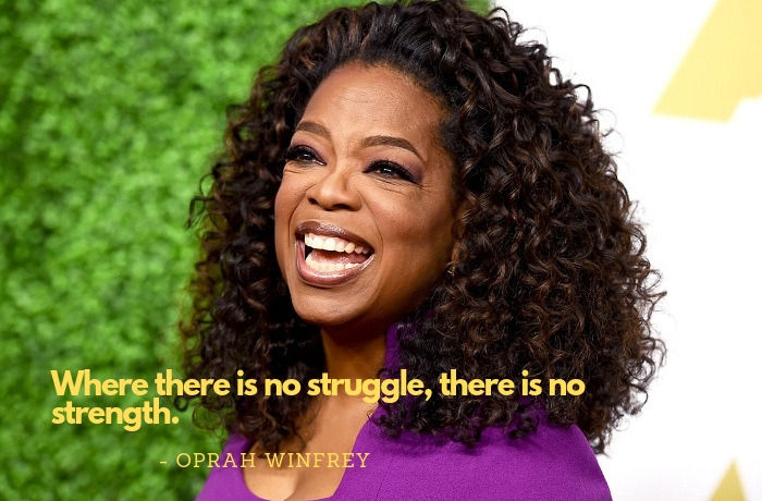 Oprah Winfrey quotes to strengthen you