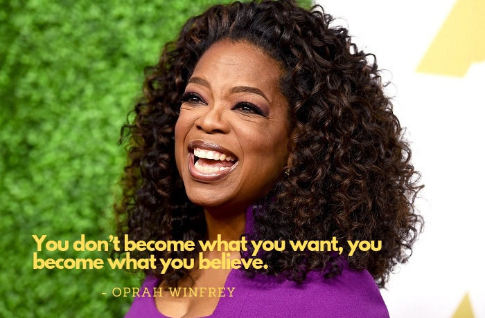 oprah winfrey quotes on what you become