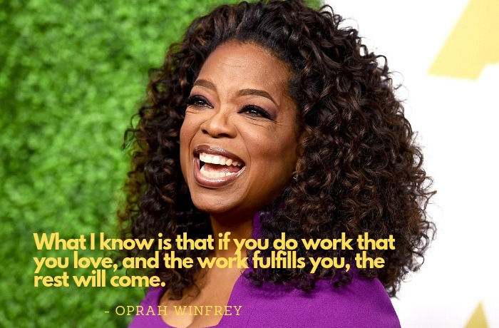 oprah winfrey quotes on being fulfilled