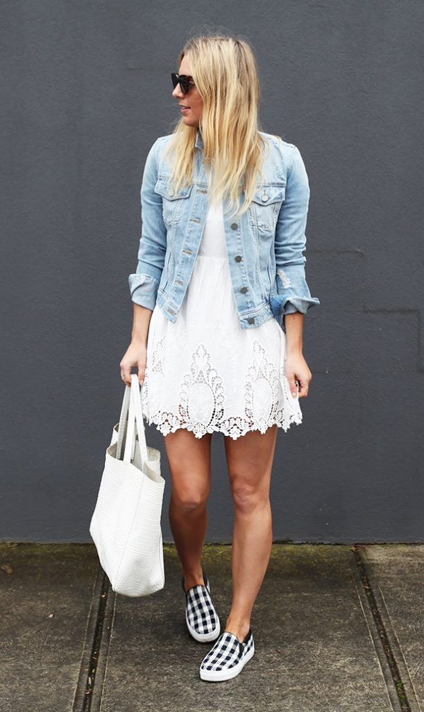 denim jacket - timeless spring outfit ideas