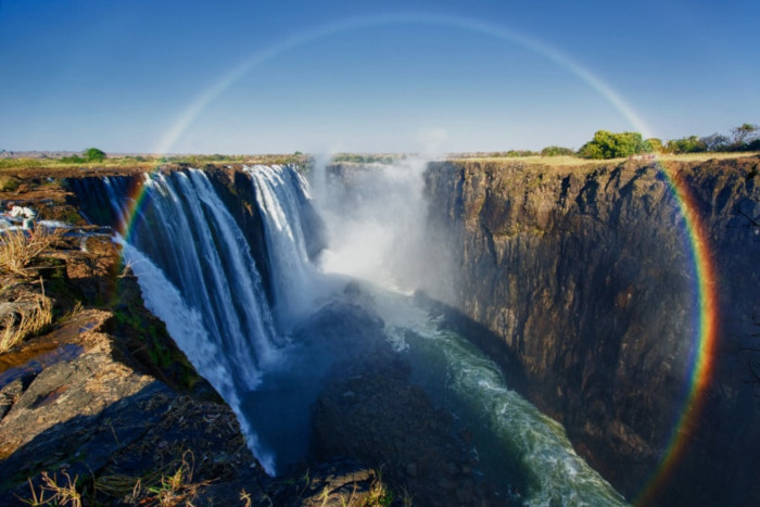 places to visit before you die Victoria Falls, Zambia