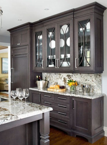 timeless black kitchen cabinets