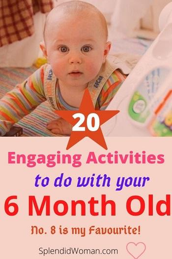 fun 6 month baby activities