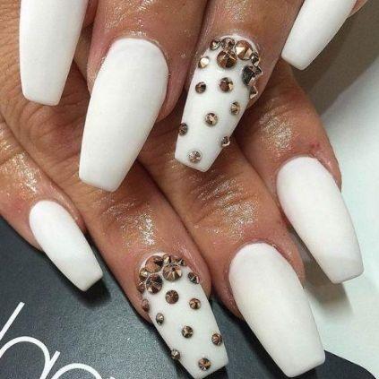 Elegant White Nail Designs