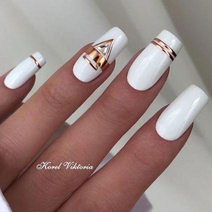 Cute White Nail Designs