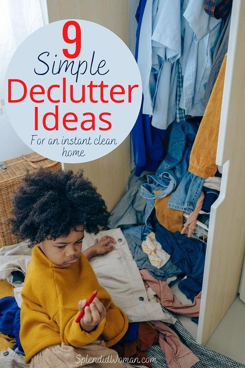 Unique declutter ideas