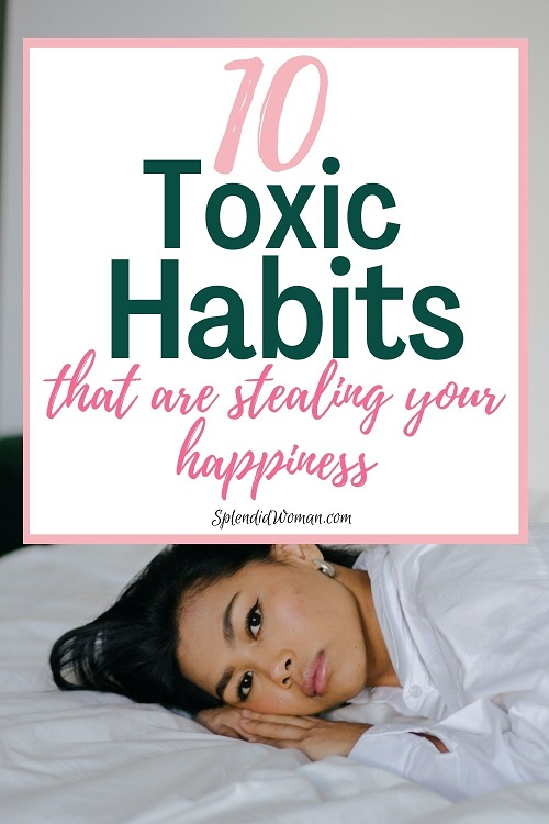 Toxic Habits To Give Up Immediately
